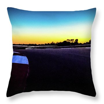 Ncm Motorsports Park - Bowling Green Ky Throw Pillow