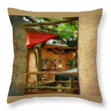 Neapolitan Throw Pillow
