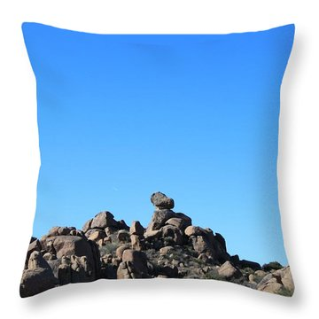 Throw Pillow featuring the photograph Near Wickenburg, Az by Antonio Romero