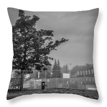 Nearly All Gone Throw Pillow
