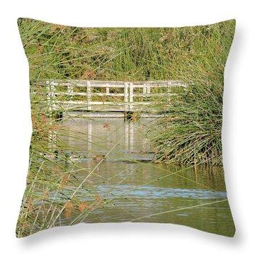Neary Lagoon Throw Pillow