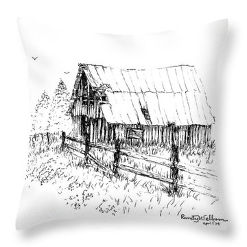 Need A Little Roof Repair Throw Pillow