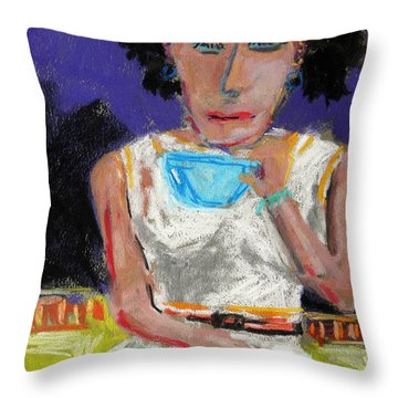 Need Coffee Throw Pillow by John Williams