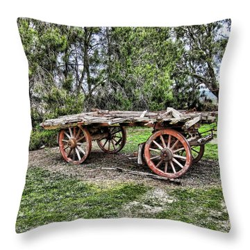 Need Horsepower Throw Pillow by Douglas Barnard
