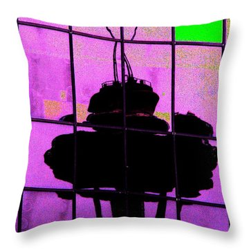 Needle Reflect 2 Throw Pillow by Tim Allen