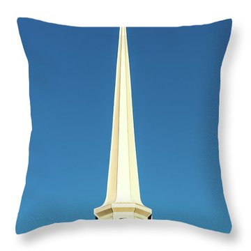 Needle-shaped Steeple Throw Pillow
