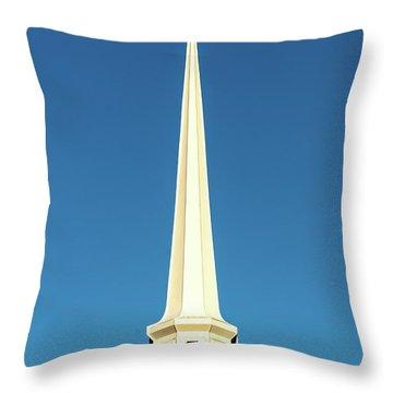 Needle-shaped Steeple Throw Pillow by Onyonet  Photo Studios