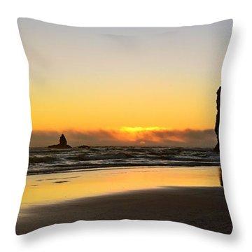 Needles Sunset Throw Pillow