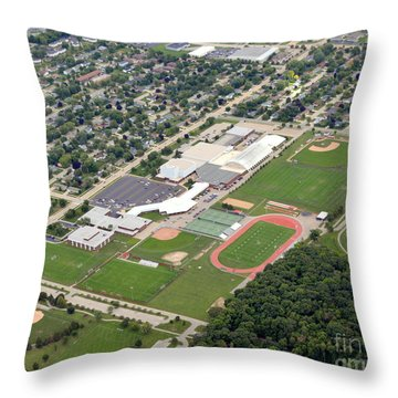 Neenah H.s. Throw Pillow by Bill Lang