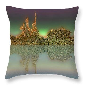 Neft Ardour Throw Pillow