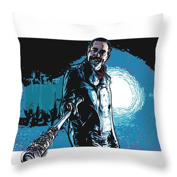 Negan Throw Pillow