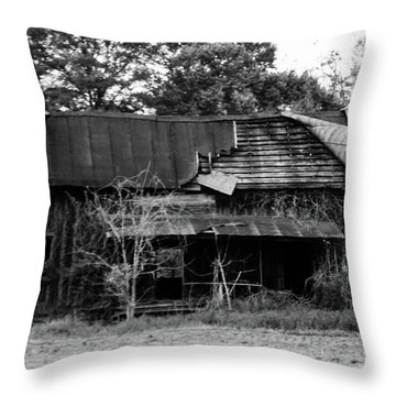 Neglect Throw Pillow