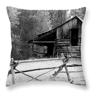 Neglected Throw Pillow