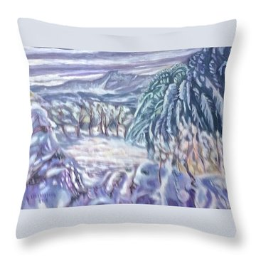 Negua Throw Pillow