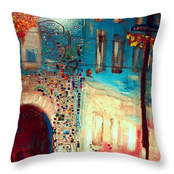 Neighborhood 2 Throw Pillow