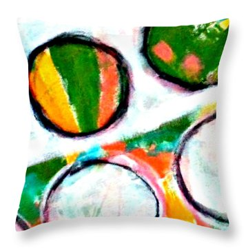 Neighbors I Throw Pillow by Shelley Graham Turner
