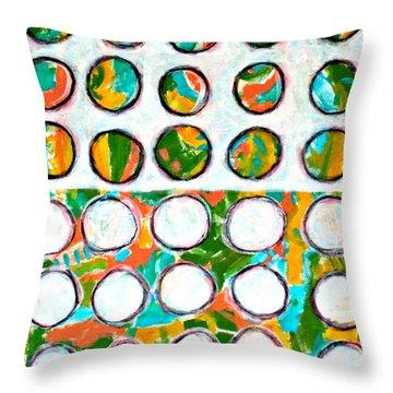 Neighbors Throw Pillow by Shelley Graham Turner