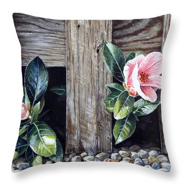 Neighbours Throw Pillow