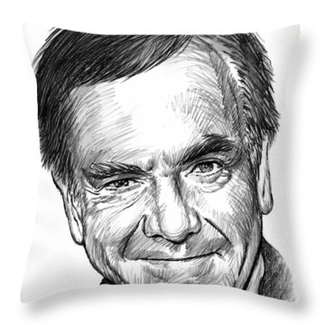Neil Diamond Throw Pillow