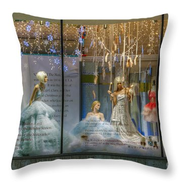 Neiman Marcus Beverly Hills Throw Pillow by David Zanzinger
