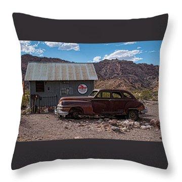 Nelson Chrysler  Throw Pillow