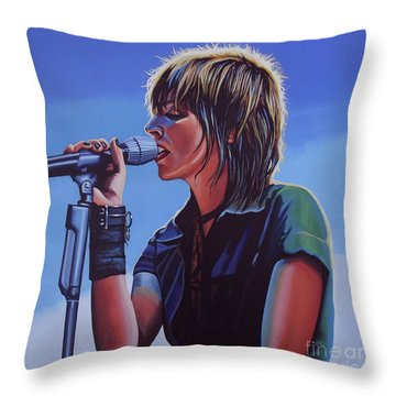 Nena Painting Throw Pillow