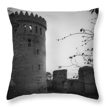 Nenagh Castle County Tipperary Ireland Throw Pillow