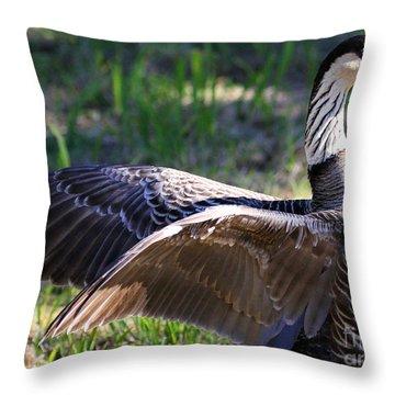 Nene Throw Pillow