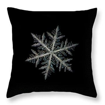 Neon, Black Version Throw Pillow