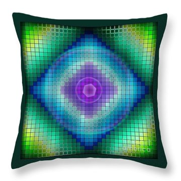 Neon P Throw Pillow