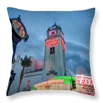 Neon Sign Rip Merle Haggard Throw Pillow