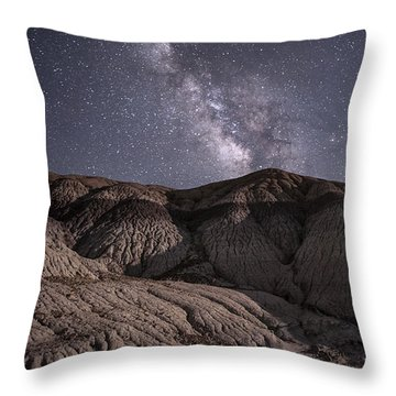 Throw Pillow featuring the photograph Neopolitan Milkyway by Melany Sarafis