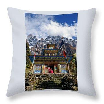 Nepal_d1062 Throw Pillow