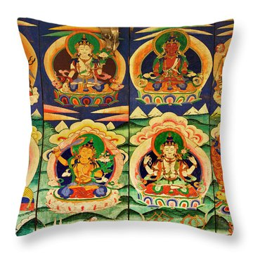 Nepal_d1145 Throw Pillow