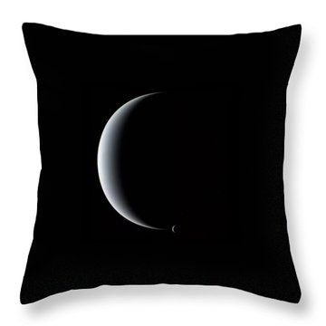 Neptune And Triton Throw Pillow