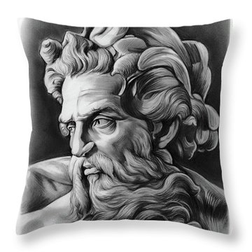 Neptune Throw Pillow
