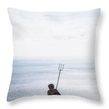 Neptune Throw Pillow