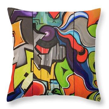 Neptunian Throw Pillow