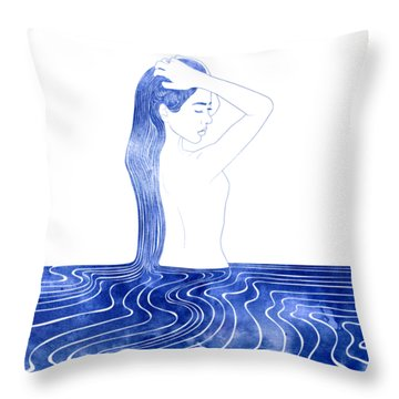 Nereid Vii Throw Pillow