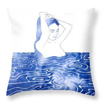 Nereid Viii Throw Pillow