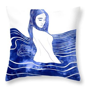 Nereid Xii Throw Pillow