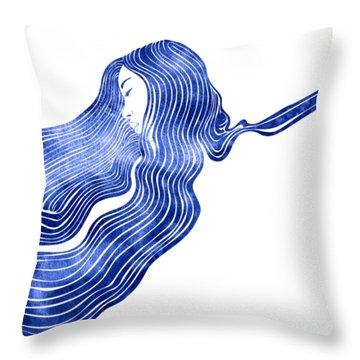 Nereid Xiv Throw Pillow