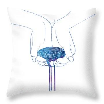 Nereid Xli Throw Pillow