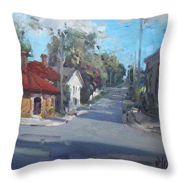 Norval Ontario Throw Pillow