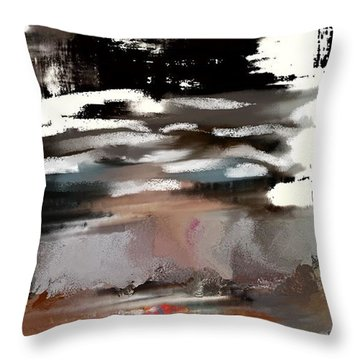 Nervous Energy Throw Pillow