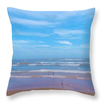 Neshotah Beach 2 Throw Pillow
