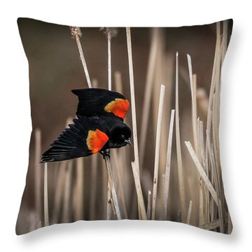 Nest Guard Throw Pillow