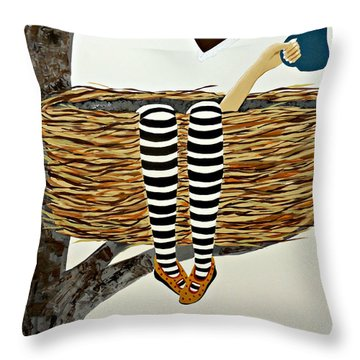 Nest Service Throw Pillow