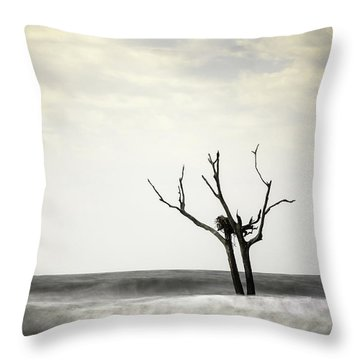 Nesting Throw Pillow by Ivo Kerssemakers