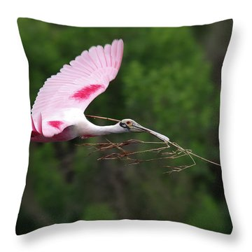Nestorations. Throw Pillow